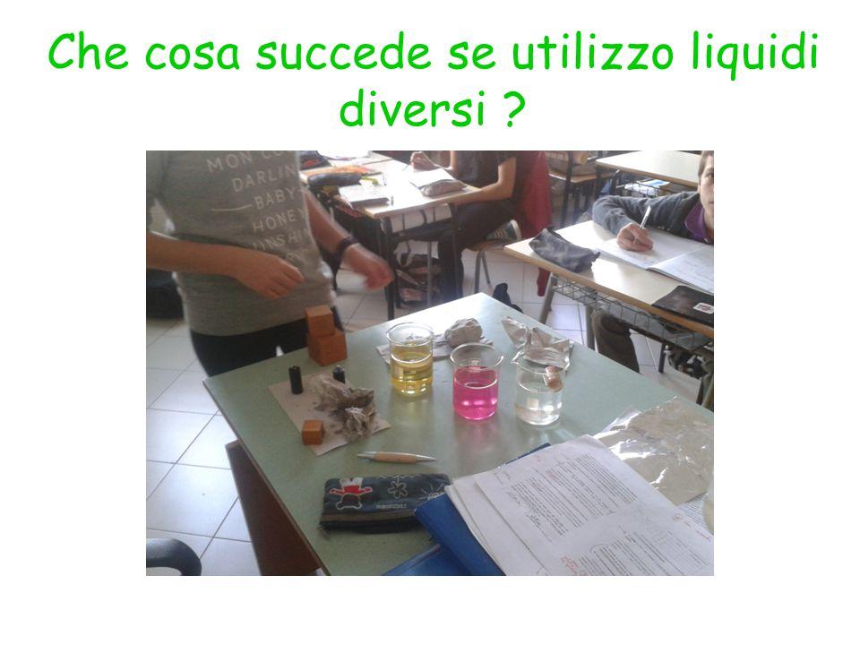 Che cosa succede se utilizzo liquidi diversi ?
