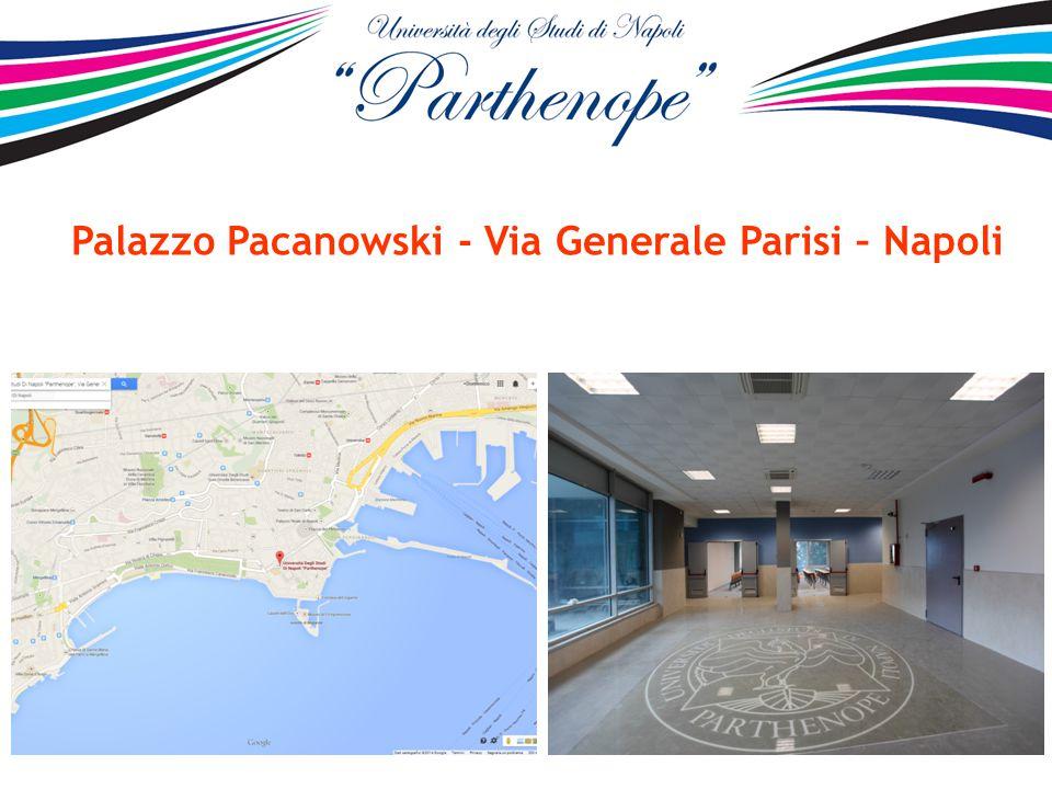 Palazzo Pacanowski - Via Generale Parisi – Napoli