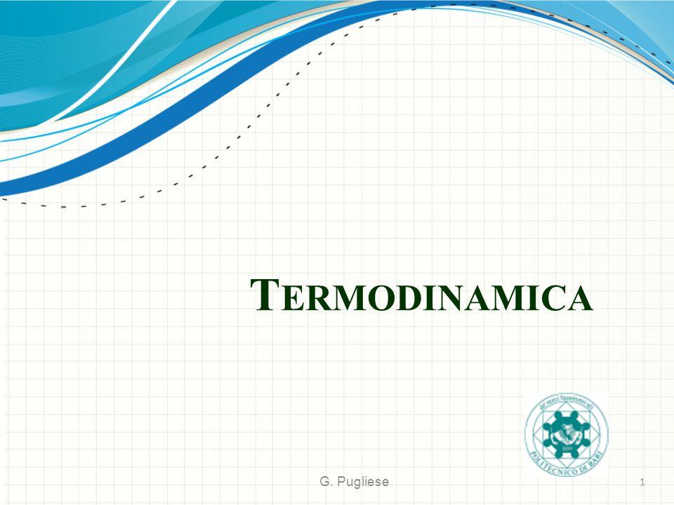 T ERMODINAMICA G. Pugliese 1