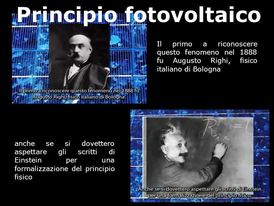 Il primo a riconoscere questo fenomeno nel 1888 fu Augusto Righi, fisico italiano di Bologna anche se si dovettero aspettare gli scritti di Einstein p
