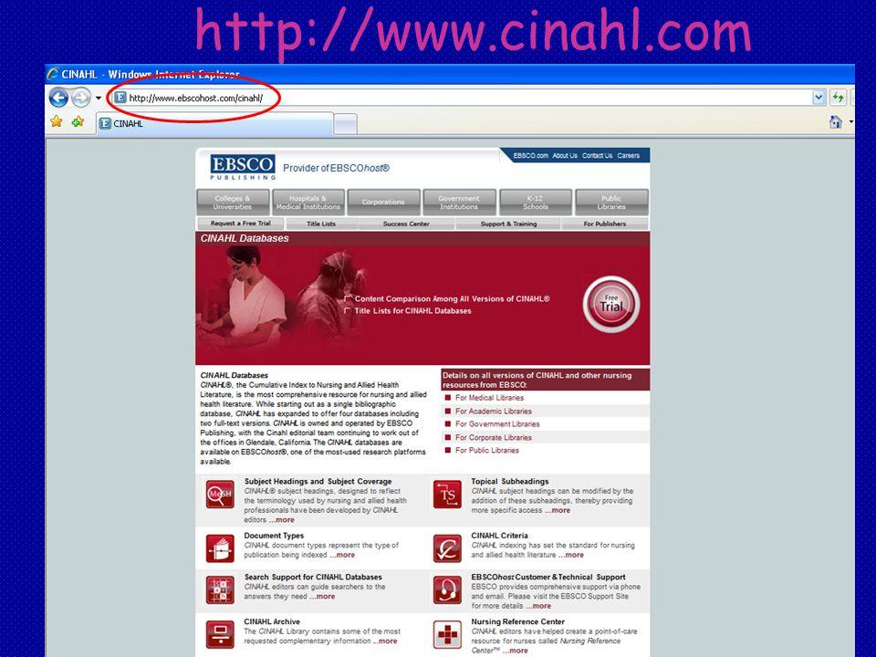 http://www.cinahl.com