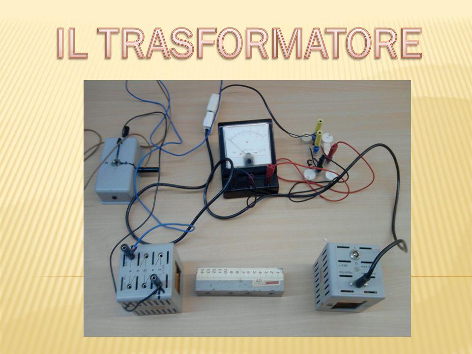 Il trasformatore è una macchina elettrica statica(perché non contiene parti in movimento).