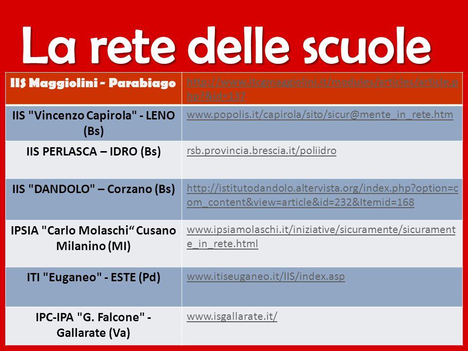 IIS Maggiolini - Parabiago http://www.itcgmaggiolini.it/modules/articles/article.p hp?&id=137 IIS