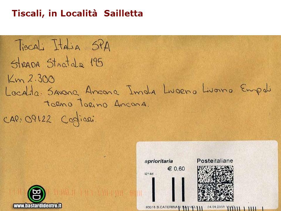 AURORA Amministrazioni unite per la redazione degli oggetti e delle registrazioni anagrafiche nel protocollo informatico Tiscali, in Località Sailletta