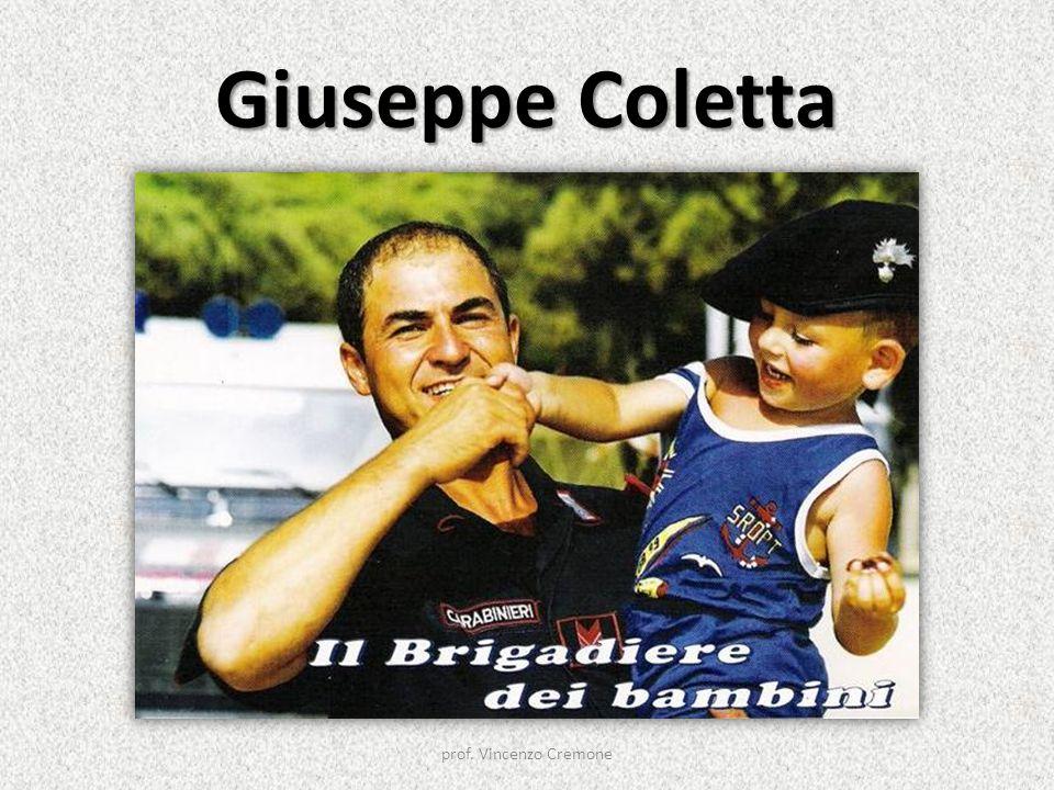 Giuseppe Coletta prof. Vincenzo Cremone