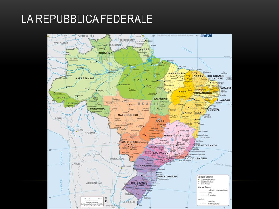LA REPUBBLICA FEDERALE