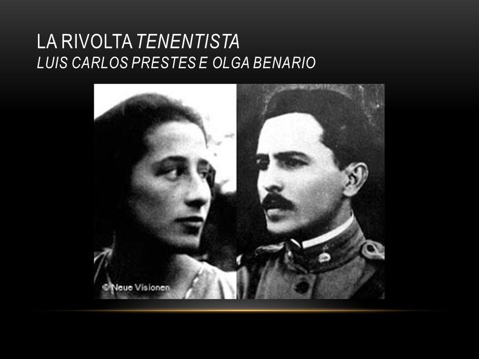 LA RIVOLTA TENENTISTA LUIS CARLOS PRESTES E OLGA BENARIO