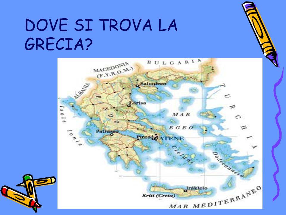 DOVE SI TROVA LA GRECIA?