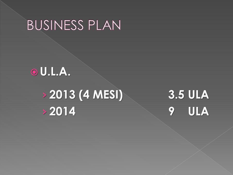  U.L.A. › 2013 (4 MESI)3.5 ULA › 20149 ULA
