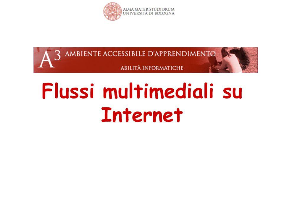 Flussi multimediali su Internet 63