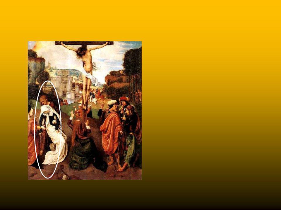 Nel secolo XV divenne di moda raffigurare la Vergine nell'atto di accasciarsi al suolo. Questo tipo di raffigurazione venne condannato dal Concilio di
