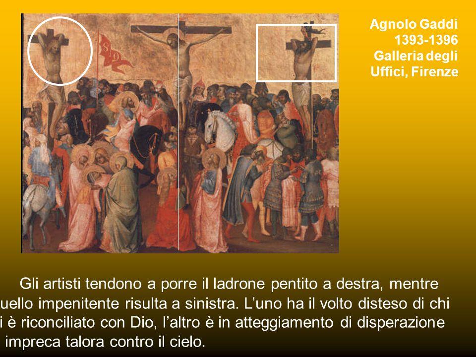 Riquadro di una porta del V secolo, S. Sabina, Roma Elemento iconografico significativo e ricorrente è inoltre la presenza dei due ladroni di cui sopr