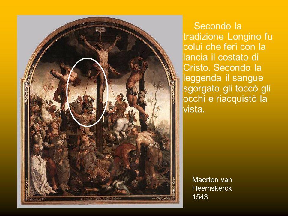 LONGINOSTEFANO Due figure emblematiche sono quelle di Longino e di Stefano.