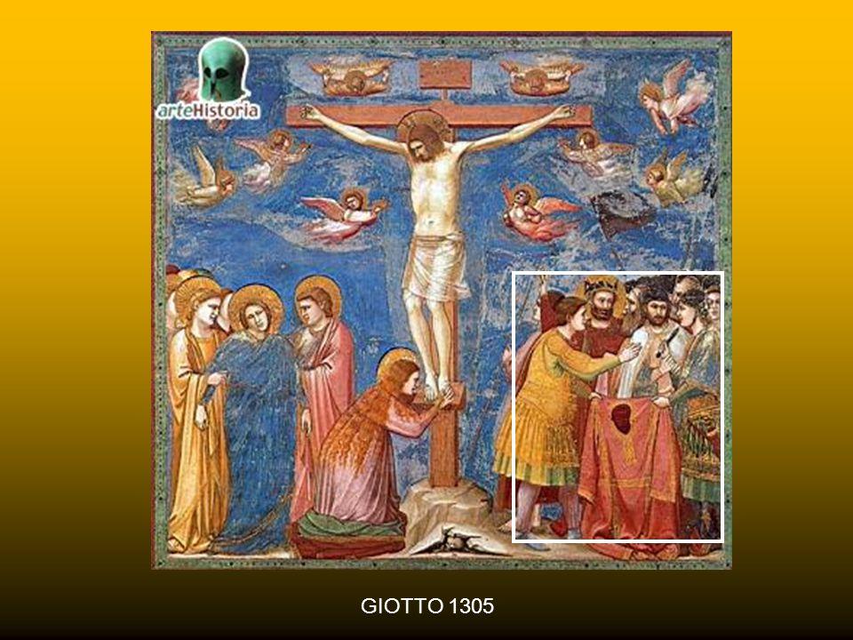 RABBULA 586 Un elemento iconografico frequente è anche la spartizione delle vesti di Gesù da parte dei soldati ed il loro tirare a sorte la tunica che