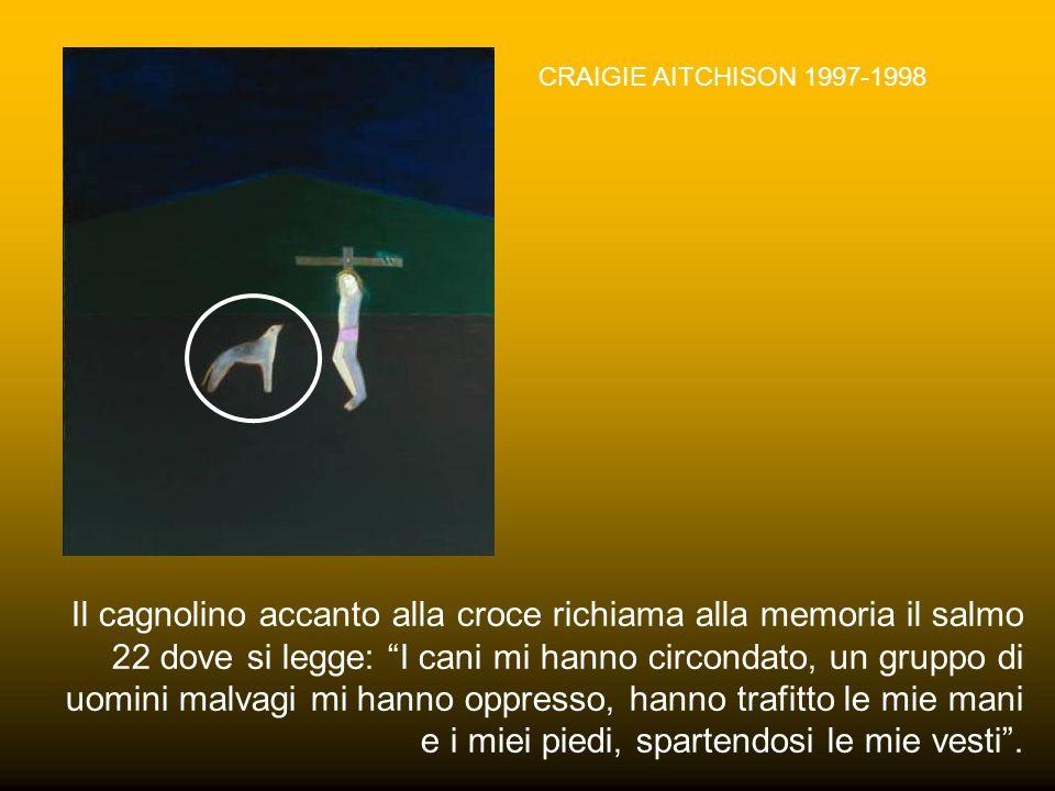 DETTAGLIO DELLA CROCIFISSIONE DI MASOLINO 1424 L'elemento iconografico del pellicano simboleggia, secondo la tradizione, l'uccello che nutre i propri