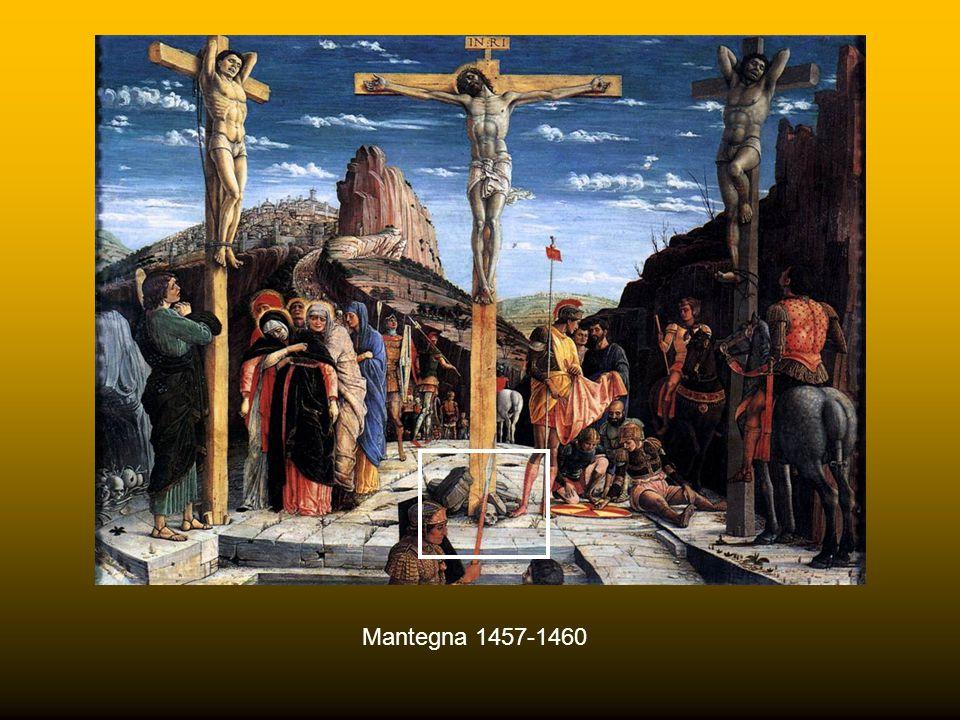 """""""Lo condussero al Golgota che significa """"cranio"""". Il cranio rappresenta inoltre Adamo sia perché Cristo si sacrificò per la salvezza di Adamo e dei su"""