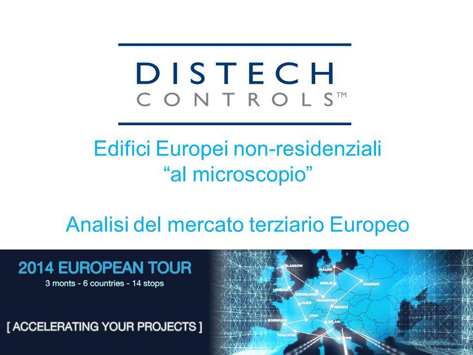 Edifici Europei non-residenziali al microscopio Analisi del mercato terziario Europeo