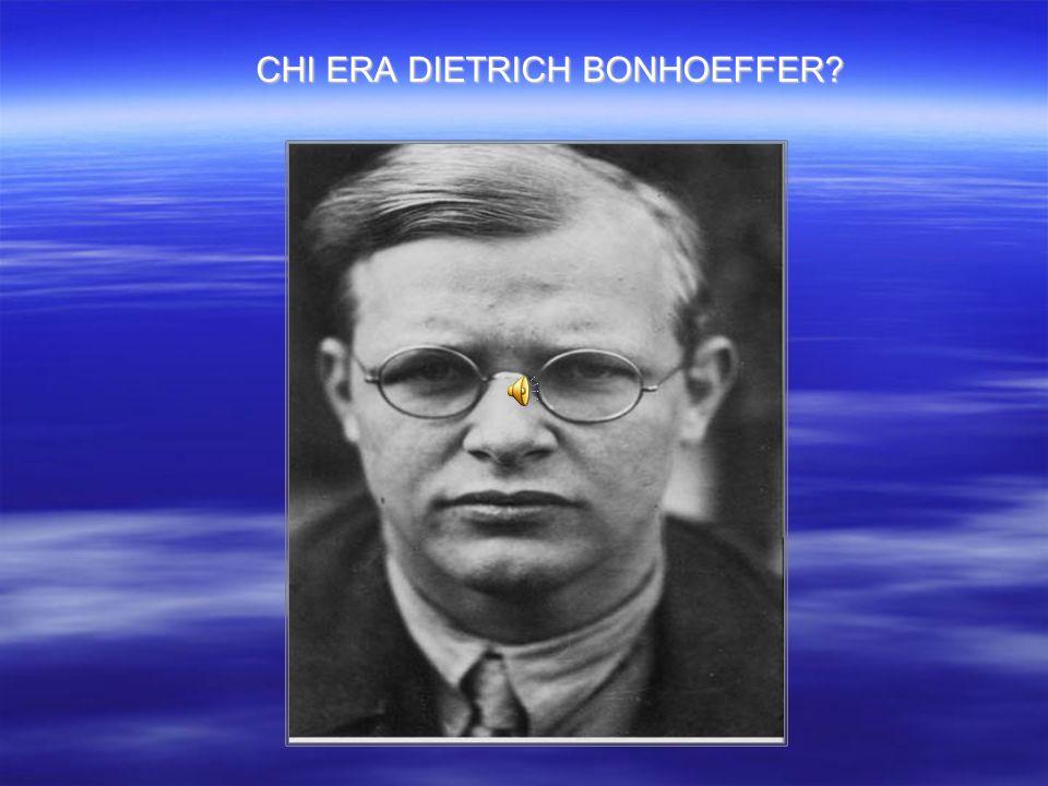 Figlio di un eminente psichiatra di origine berlinese e di un insegnante, Bonhoeffer nasce il 4 Febbraio 1906 a Breslavia, da una famiglia dell alta borghesia molto in vista.