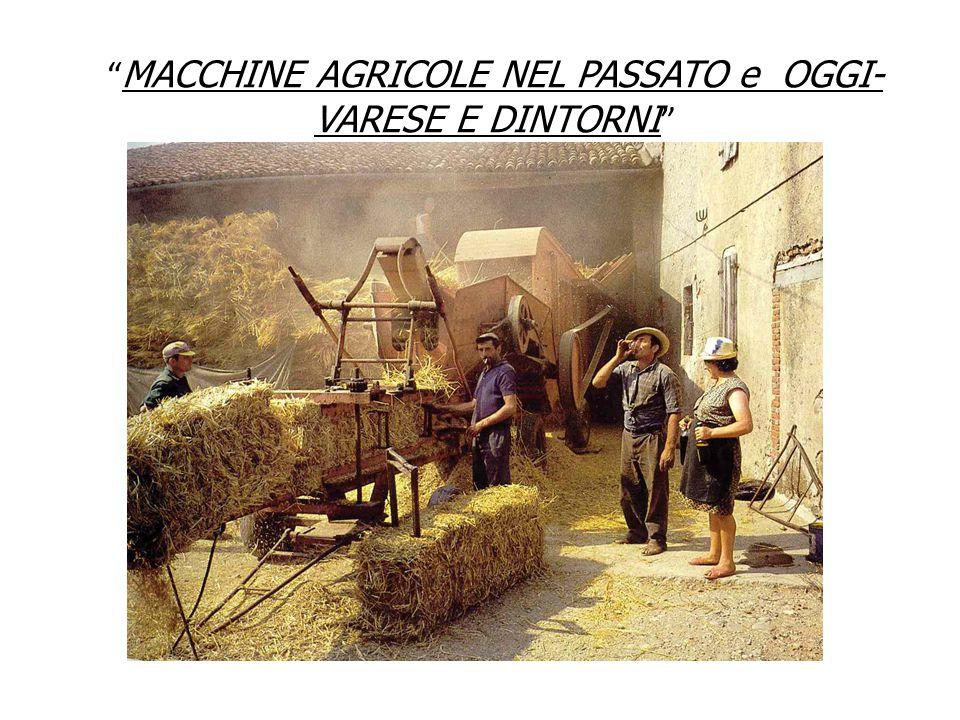 IL TRATTORE Il trattore è nato nel lontano 1889 negli Stati Uniti, i primi modelli erano poco maneggevoli e molto pesanti.