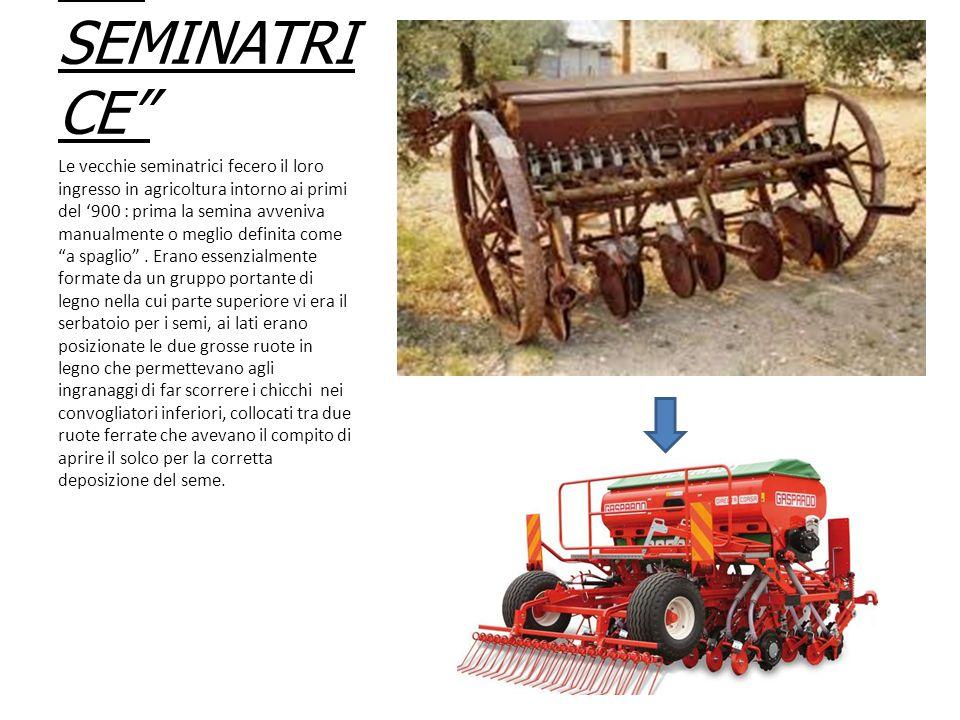 LE FALCIATRI CI Una delle prime falciatrici in assoluto in Italia venne prodotta in una piccola officina di Abbiategrasso, la mitica BCS.