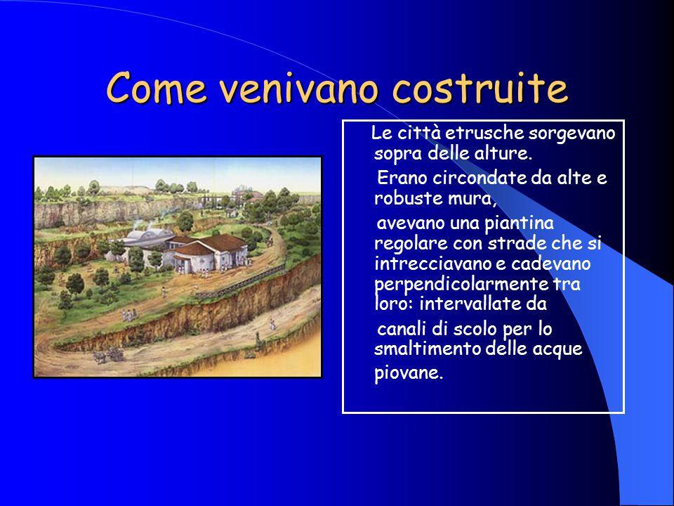 La donna La donna etrusca fu la prima donna trattata con dignità, in un periodo in cui in altre culture la consideravano inferiore.