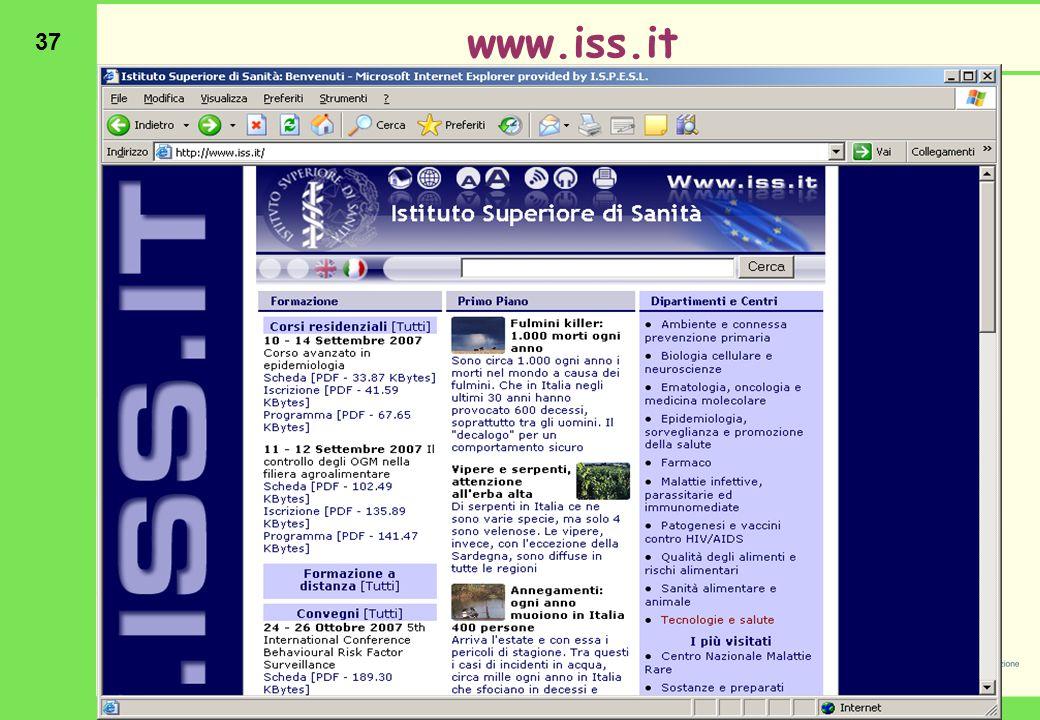 37 www.iss.it