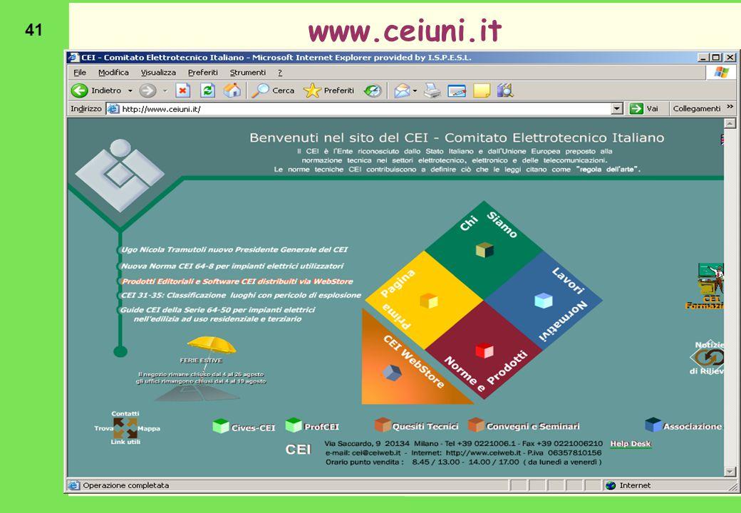 41 www.ceiuni.it