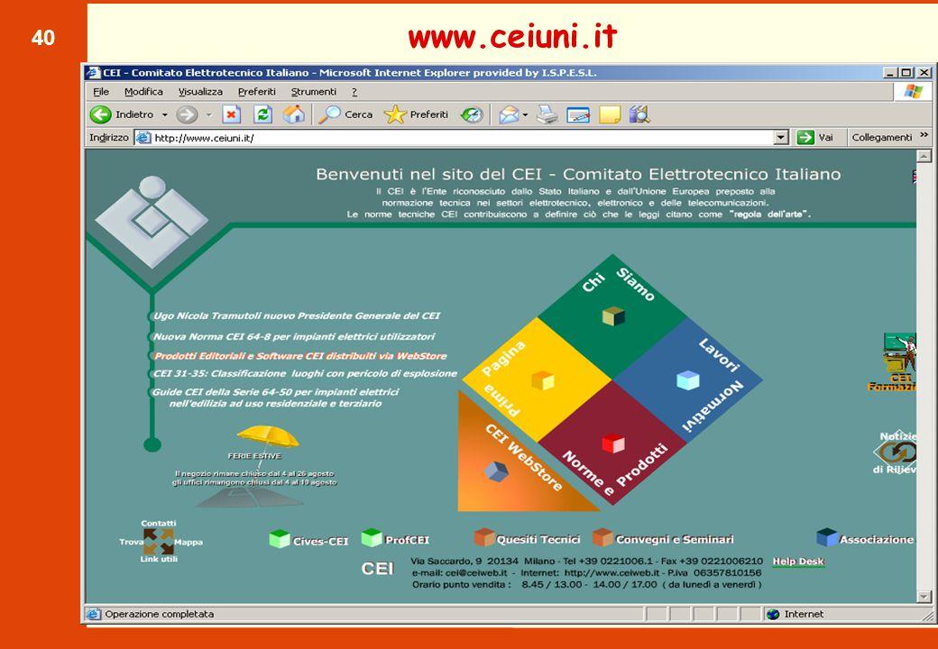 40 www.ceiuni.it