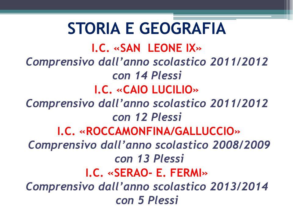 STORIA E GEOGRAFIA I.C.