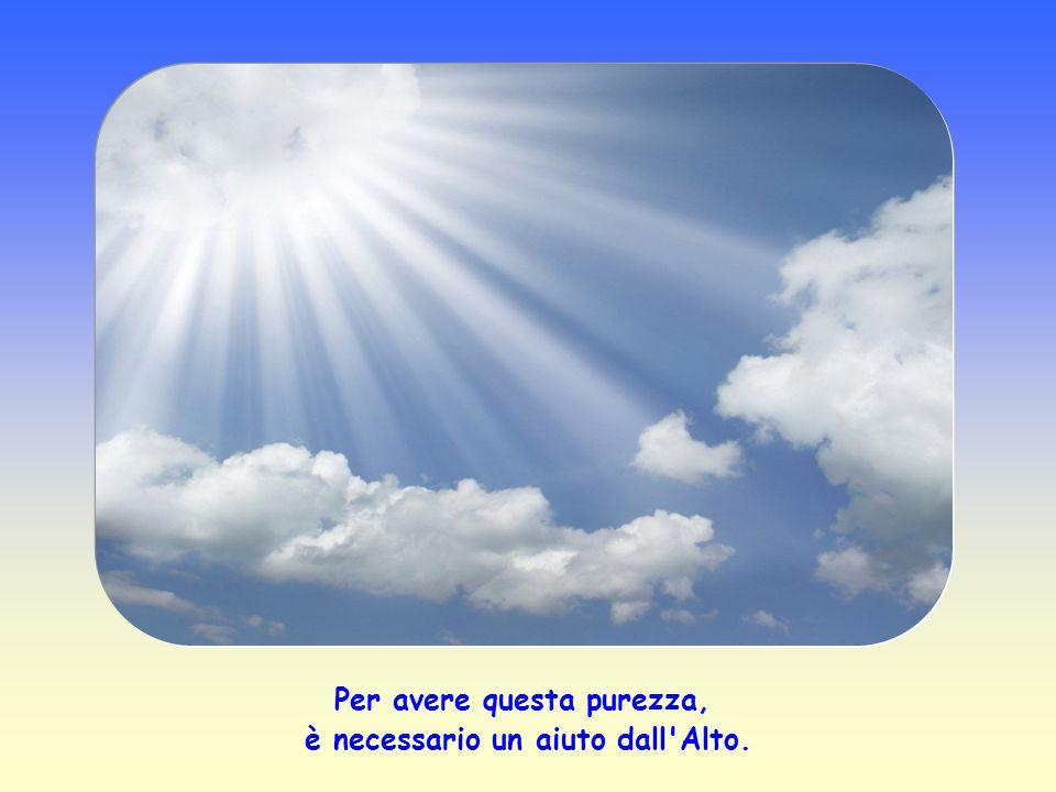 Di quella disposizione d'animo necessaria per star dinanzi a Dio, di quell'assenza di ostacoli (come il peccato, ad esempio) che si oppongono al conta