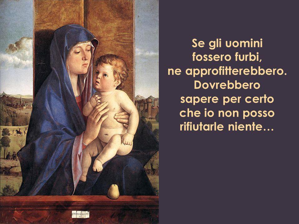 E questa madre è la mia, che mi guarda con gli stessi occhi, che mi ama con lo stesso cuore.
