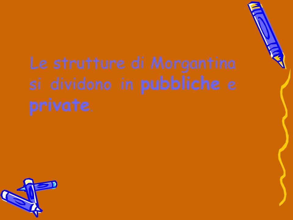 Le strutture di Morgantina si dividono in pubbliche e private.