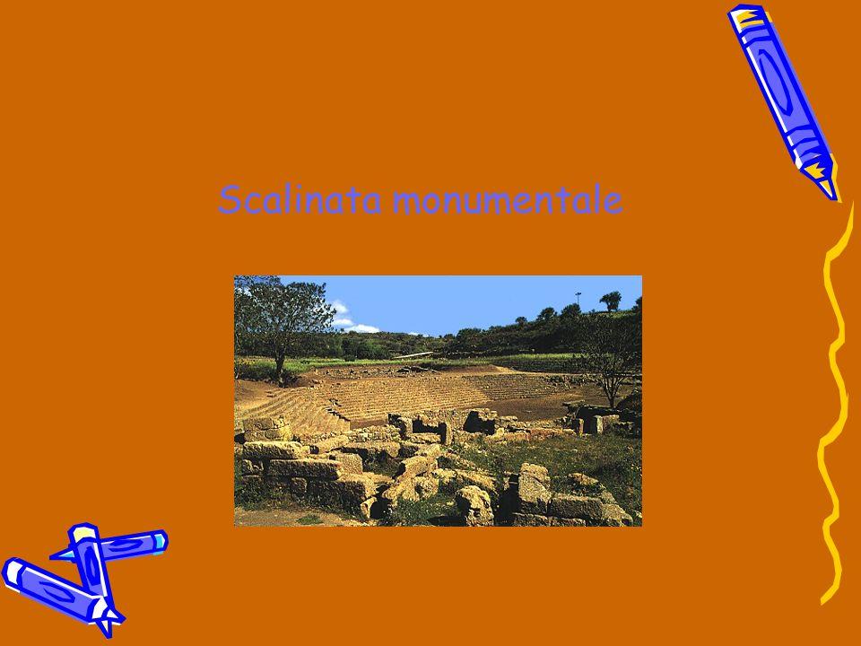Le strutture pubbliche di Morgantina Scalinata trapezoidale (ecclesiasterion) Stoà nord,est ed ovest Fontana monumentale Ginnasio Buleuterion Macellum Santuario delle divinità ctonie Teatro Granaio Fornace Prytaneion