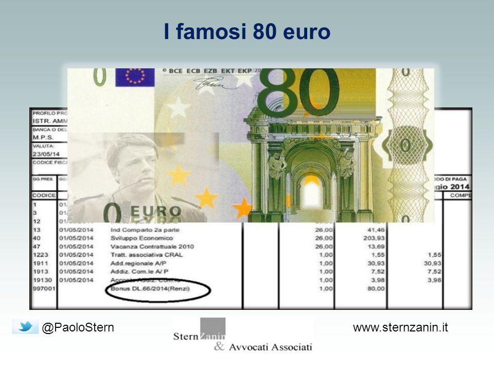 @PaoloSternwww.sternzanin.it I famosi 80 euro