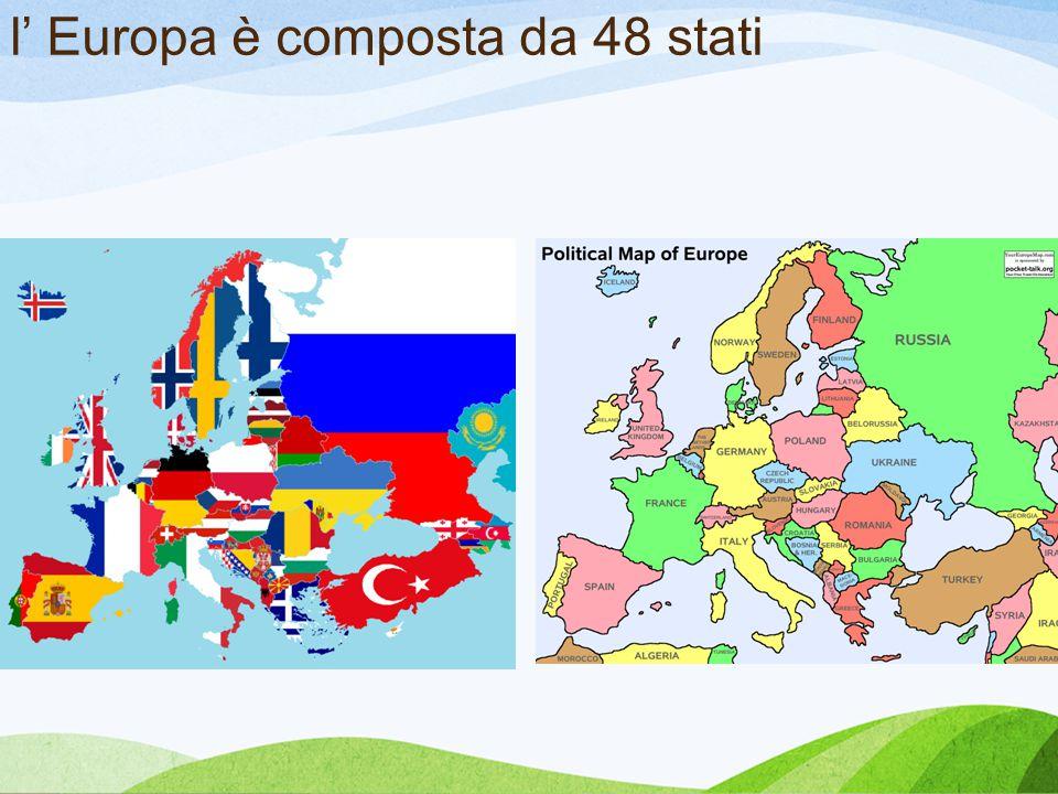 l' Europa è composta da 48 stati