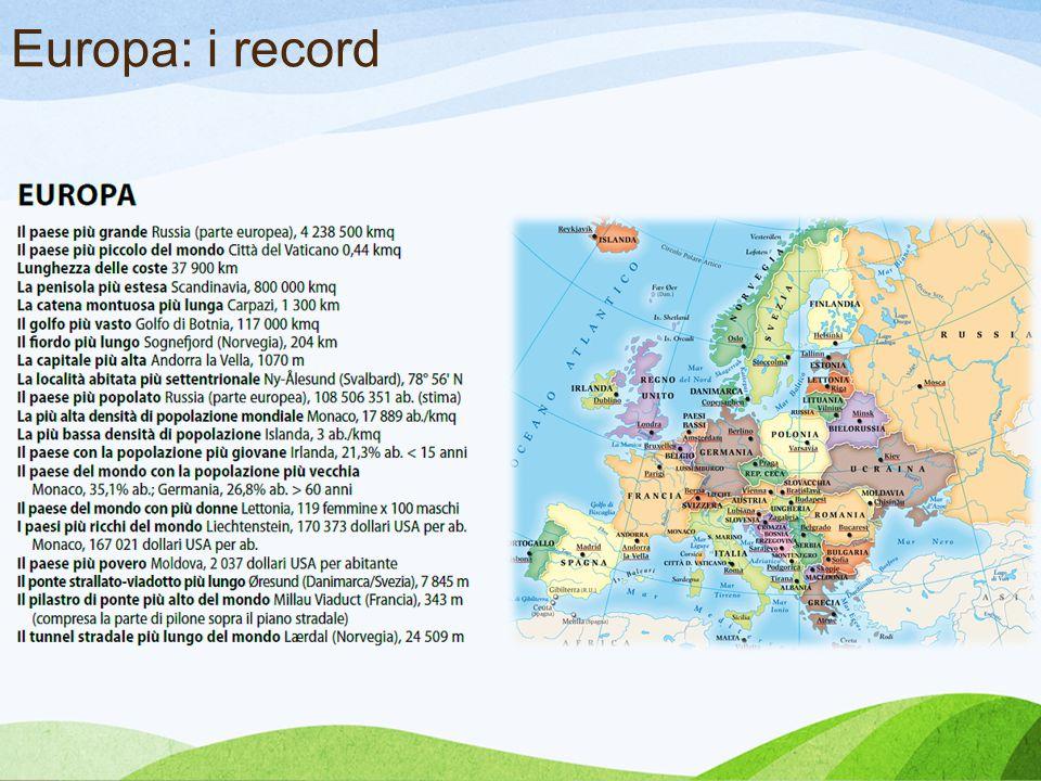 Europa: i record