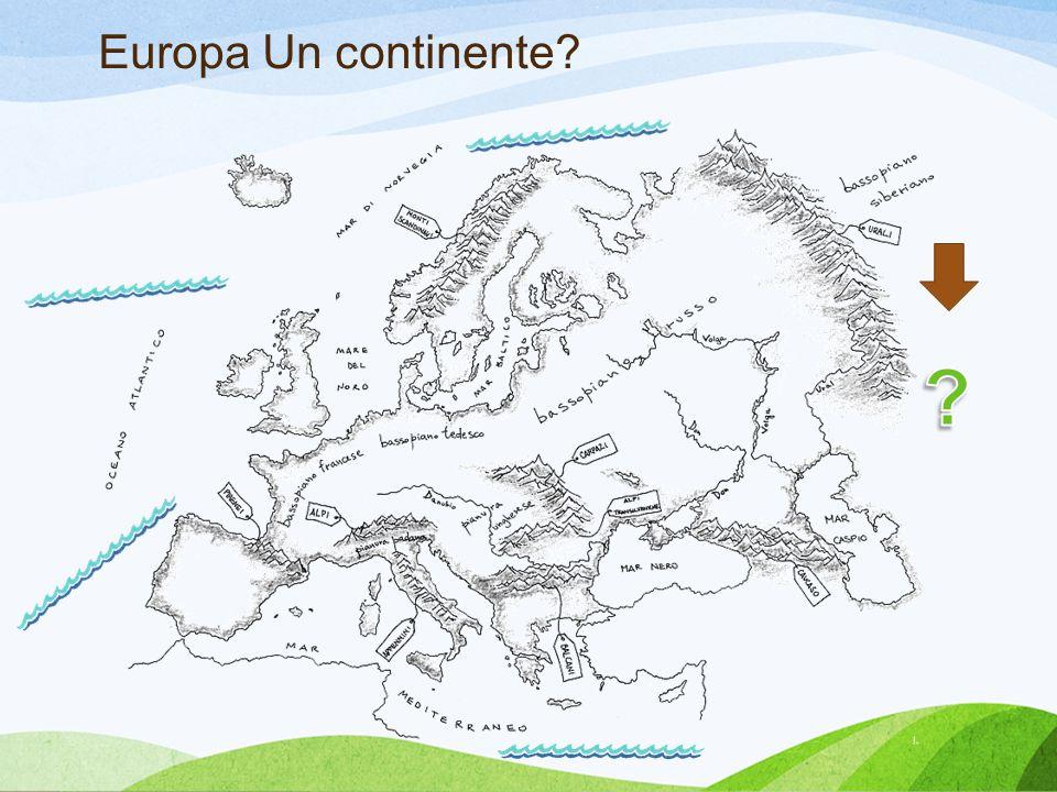 Europa Un continente?