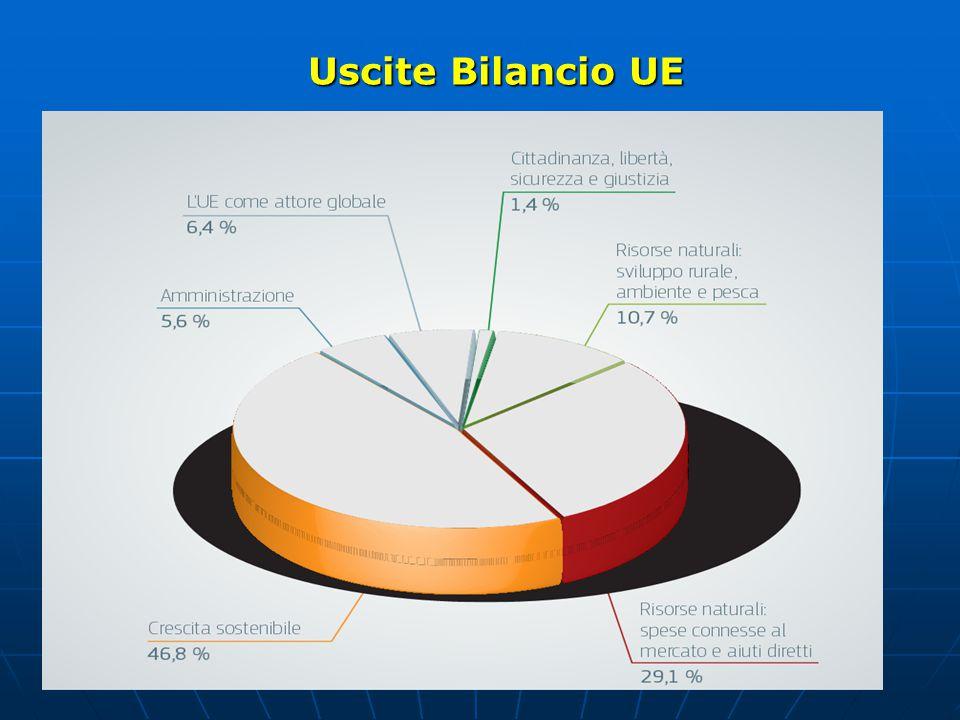 Uscite Bilancio UE