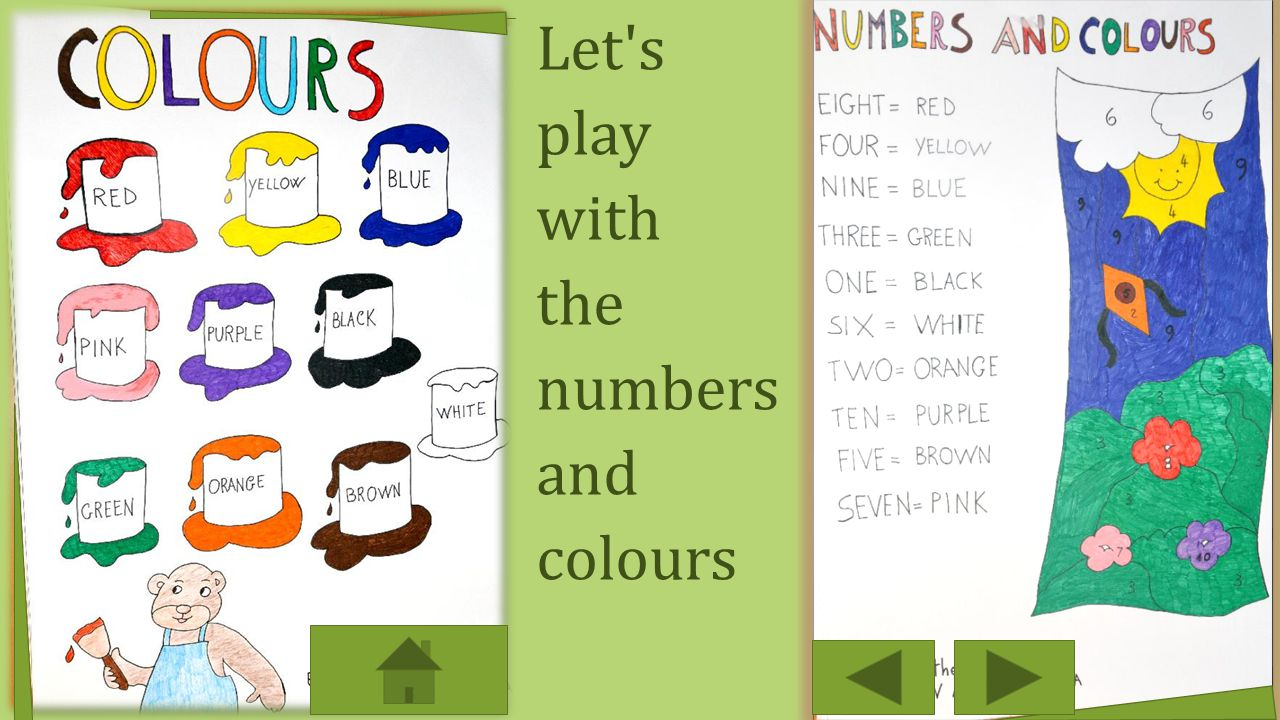 Let s play with the numbers and colours