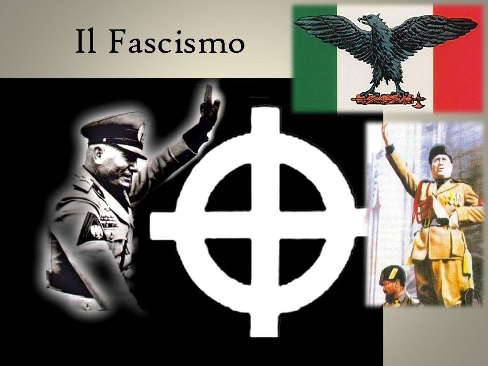 Questo, per me, è fascismo.