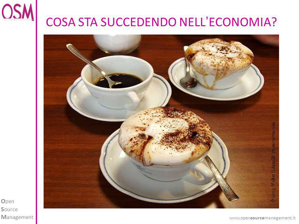 O pen S ource M anagement www.opensourcemanagement.it COSA STA SUCCEDENDO NELL'ECONOMIA?