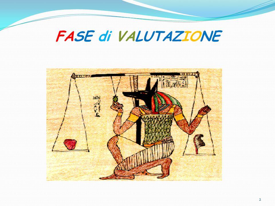 FASE di VALUTAZIONE 2