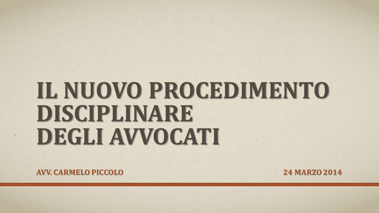 FONTI NORMATIVE: Legge 31 dicembre 2012 n.