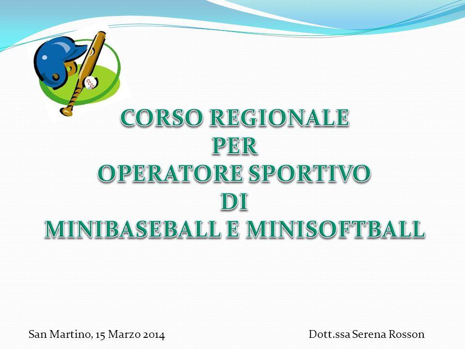 San Martino, 15 Marzo 2014Dott.ssa Serena Rosson