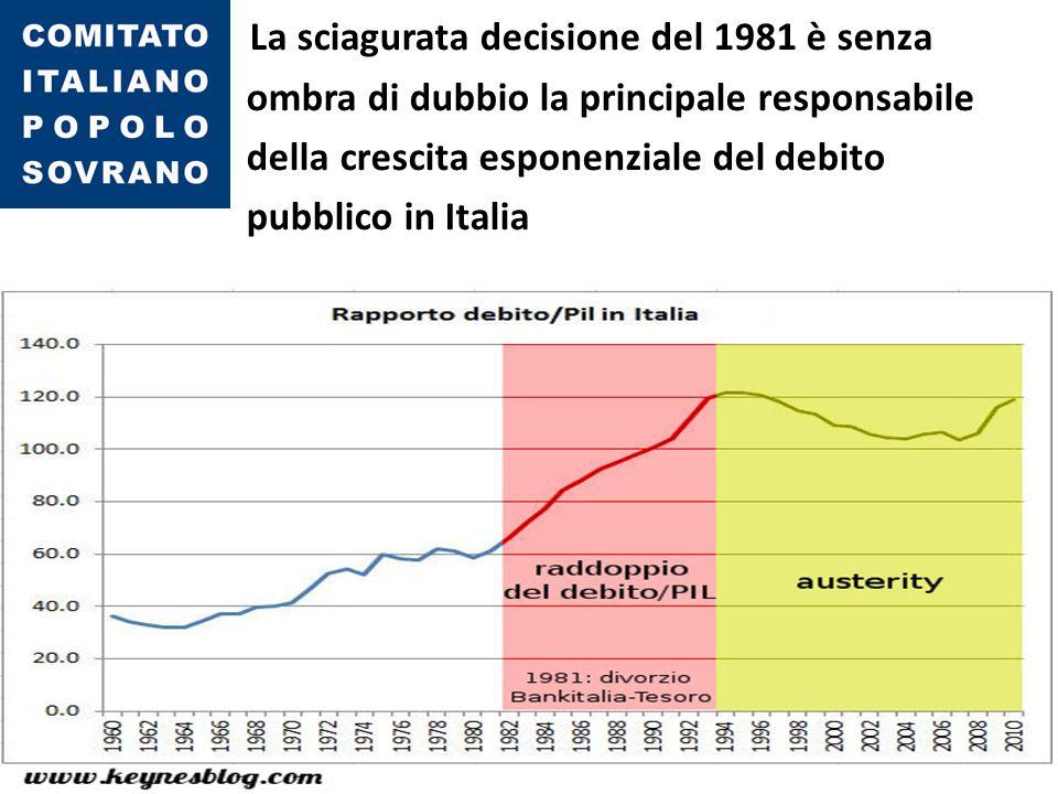 Gli artefici furono essenzialmente: Beniamino Andreatta, Ministro del Tesoro (Bilderberg) Carlo Azeglio Ciampi, all'epoca Governatore della Banca d'Italia (Bilderberg)