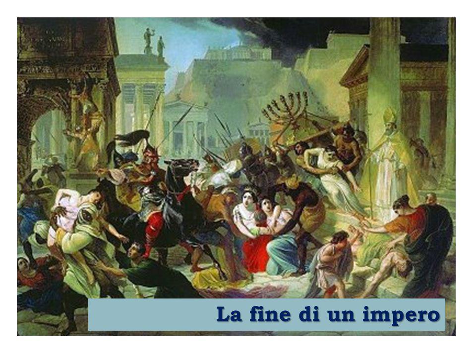 La rivoluzione tardo - romana Durante i due secoli e mezzo precedenti la fine dell'Impero romano d'Occidente si verificò in questa zona imperiale una profonda trasformazione definita rivoluzione tardo-romana .