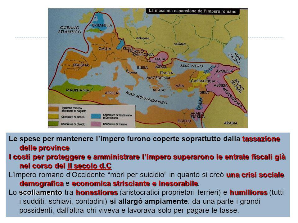Schiavi e coloni Nel II secolo d.C.