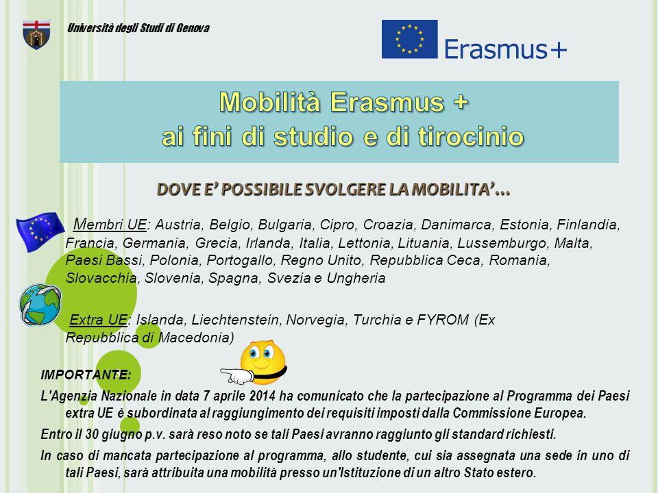4 Le regole di partecipazione al Bando per l'assegnazione delle borse, sono consultabili cliccando sul link «Bando Erasmus + ai fini di studio a.a.