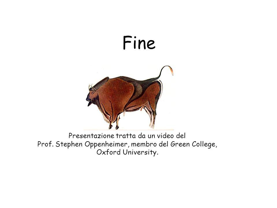 Fine Presentazione tratta da un video del Prof.