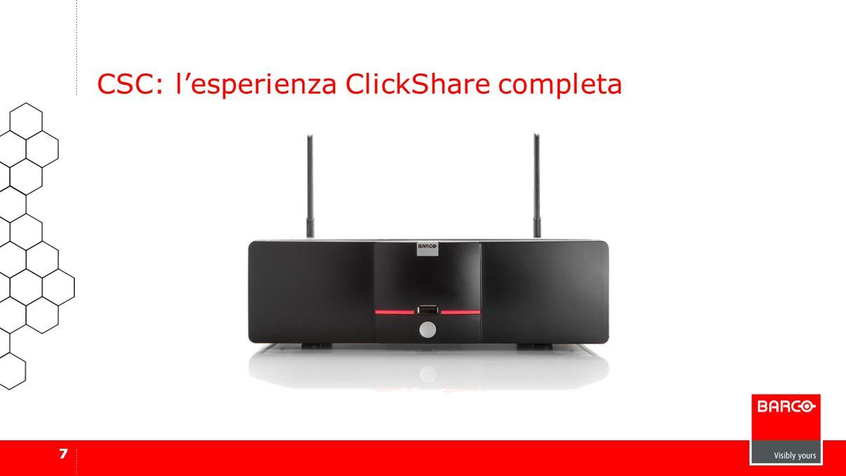 7 CSC: l'esperienza ClickShare completa